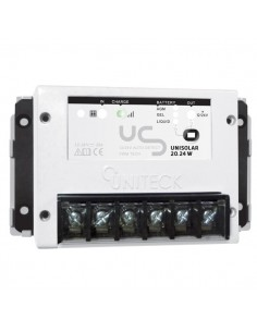 UNISOLAR 20.24 W -régulateur de charge - 20A - 12/24V - carte résinée