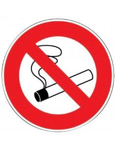 Panneau de signalisation rond Interdiction de fumer