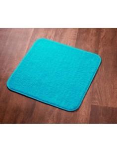 Tapis sortie de bain subtil ls 60 x 60 turquoise