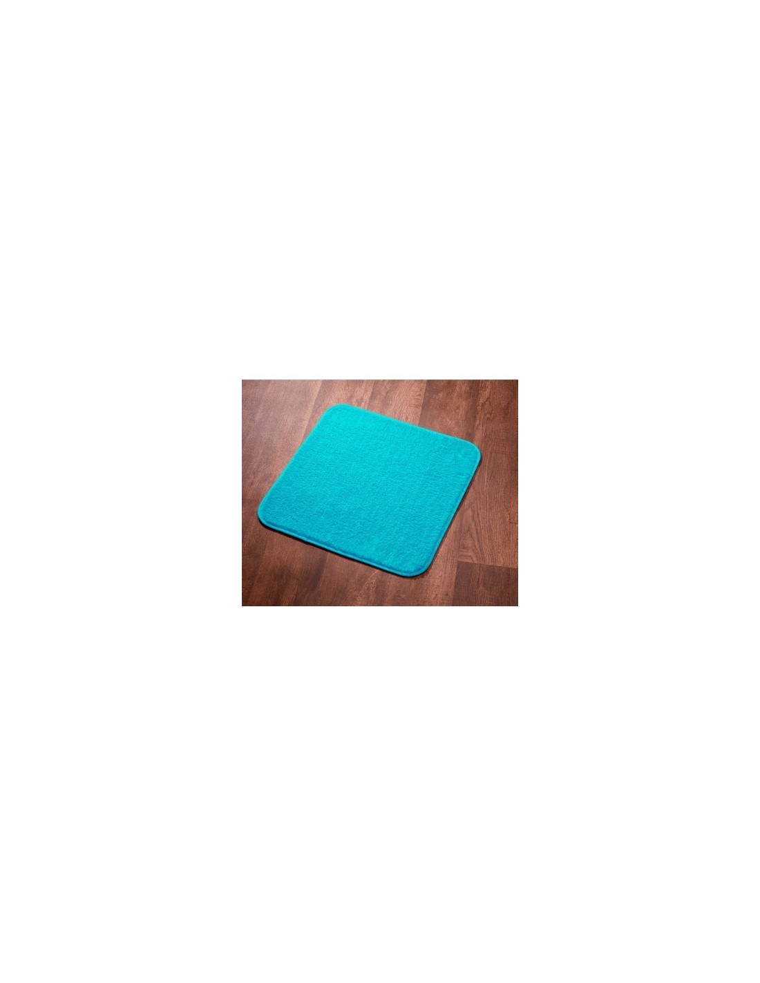tapis sortie de bain subtil ls 60 x 60 turquoise. Black Bedroom Furniture Sets. Home Design Ideas