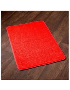 Tapis sortie de bain subtil ls 60 x 90 rouge