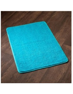 Tapis sortie de bain subtil ls 60 x 90 turquoise