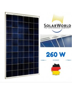 Panneau solaire 260w Sunmodule SOLARWORLD