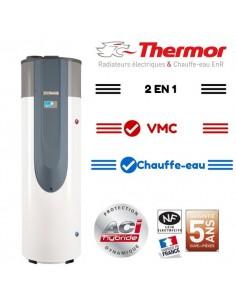 Chauffe eau thermodynamique 270l a romax 4 thermor - Chauffe eau thermodynamique vmc ...