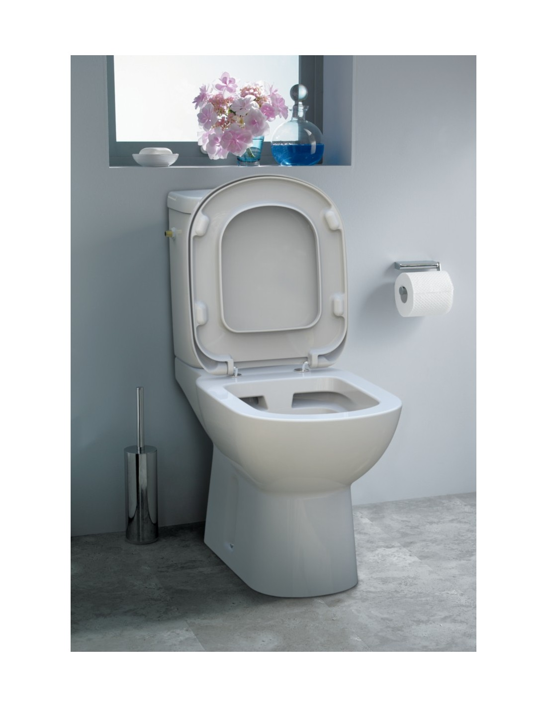 Wc suspendu ideal standard sans bride awesome cuvette - Wc suspendu sans bride ...