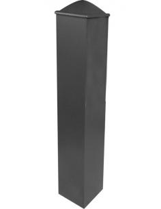 Poteau, pilier de portail aluminium 118x118