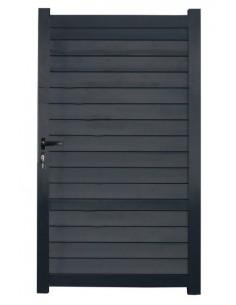 Portillon aluminium Klemens 1.00m x1.80