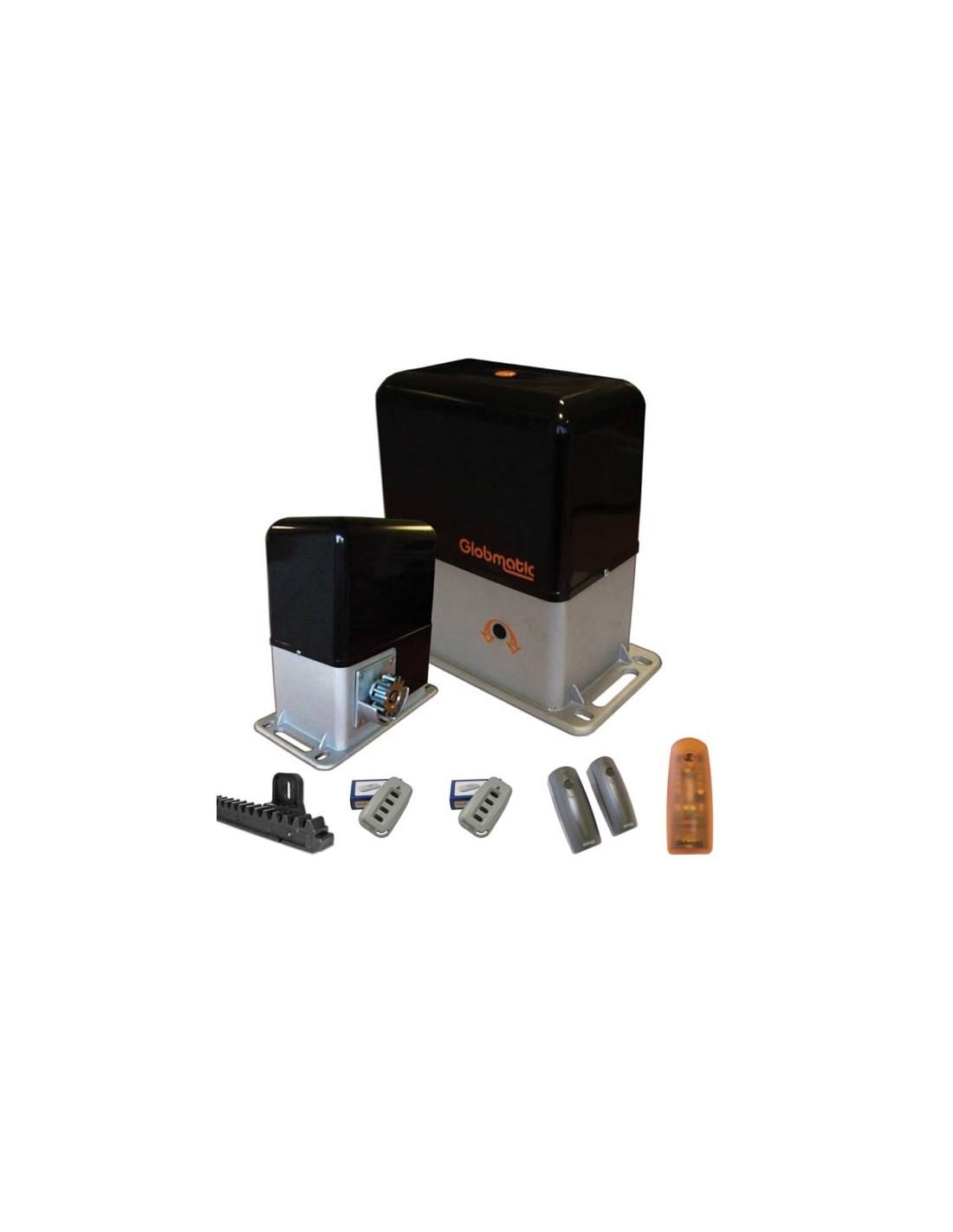 portail aluminium coulissant motoris seved ebay. Black Bedroom Furniture Sets. Home Design Ideas