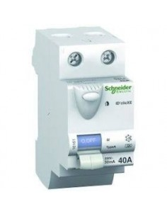 Interrupteur différentiel 2P 30 mA 25A Type AC embrochable