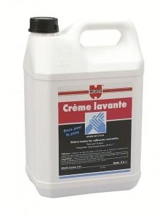 Crème lavante professionnelle en bidon 5 L