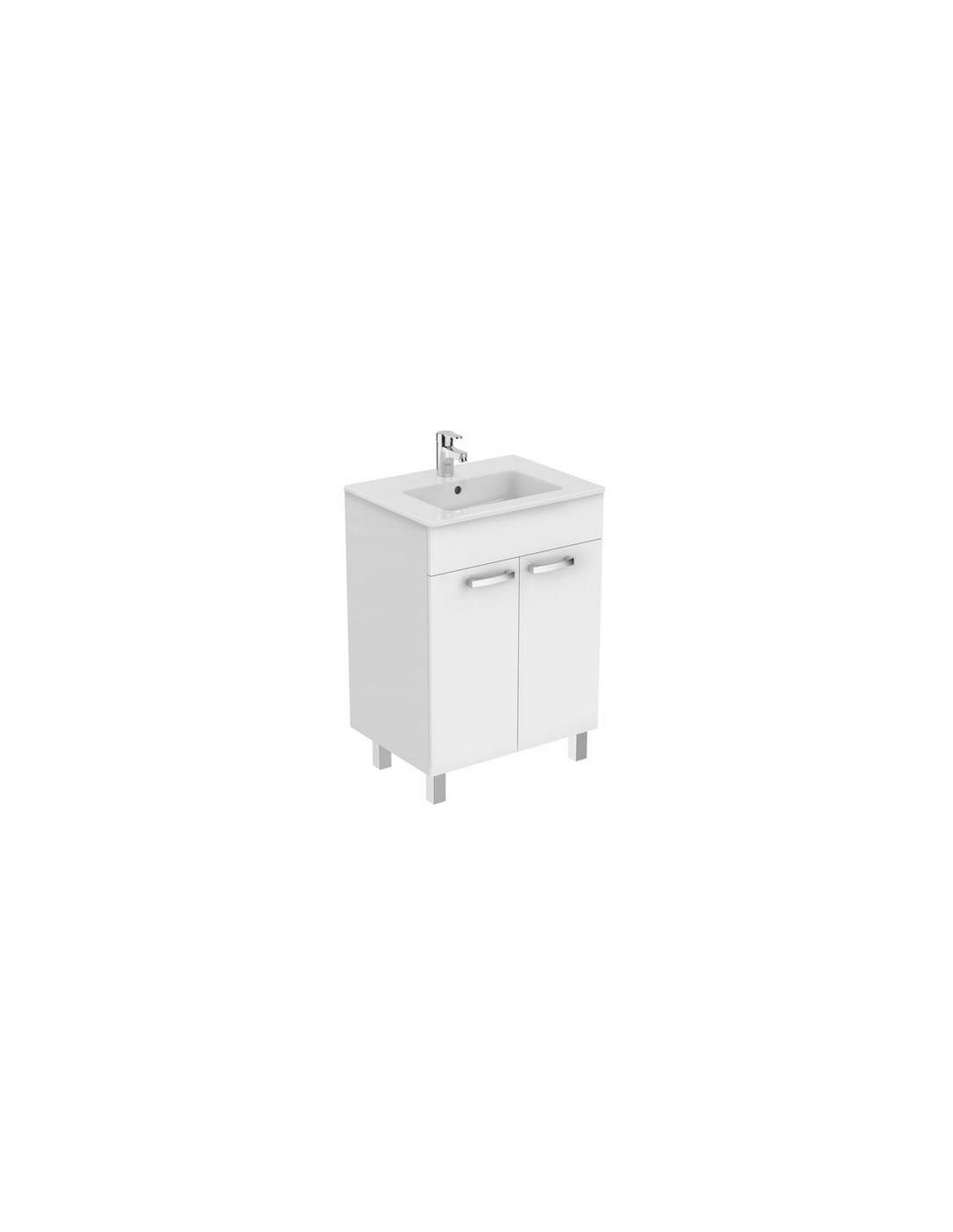 Meuble vasque sur pieds des id es novatrices sur la for Meuble vasque sur pied