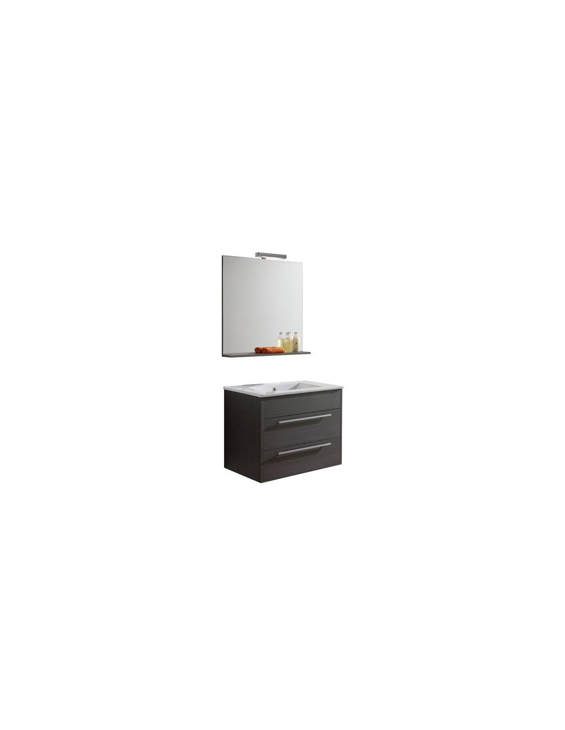 Meuble simple vasque dubai 70cm - Meuble simple vasque ...