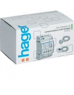 Pack afficheur modulaire multiénergies RT2012 Hager