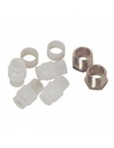Sachet de raccords a bague nylon pour filtre fioul standard