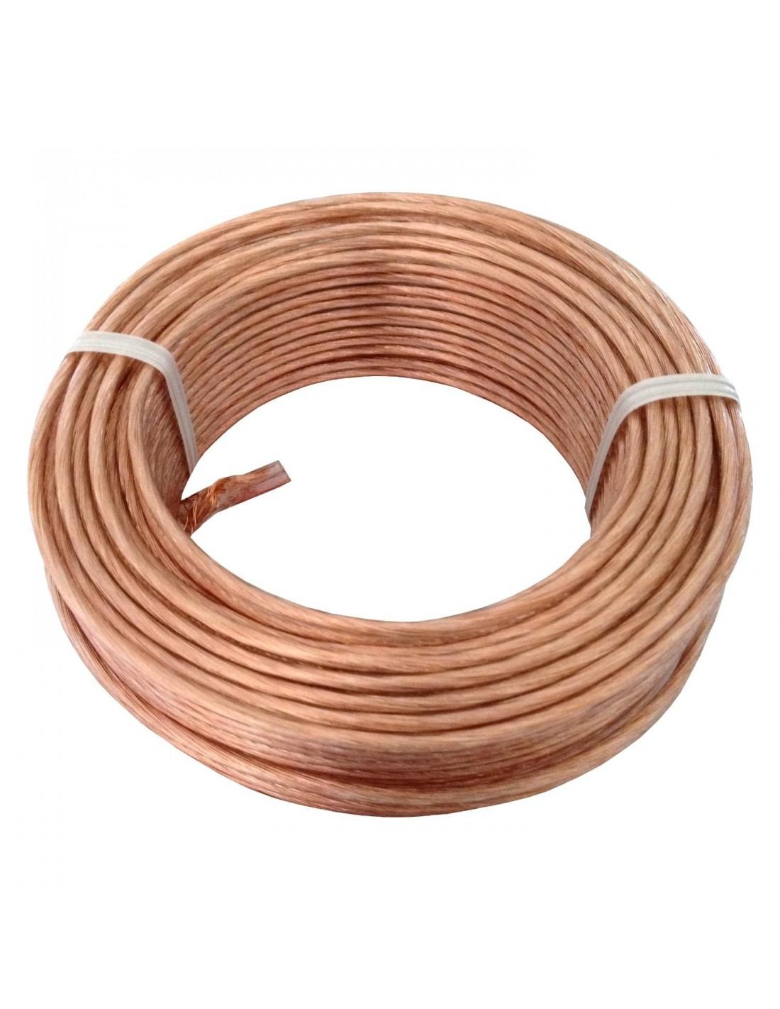 Cablette de terre cuivre 25 mm2 vendu au m tre - Cablette de terre ...