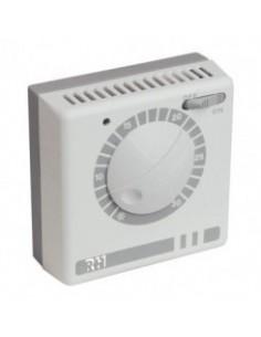 Thermostat d'ambiance filaire a tension de vapeur - 3 fils - rh