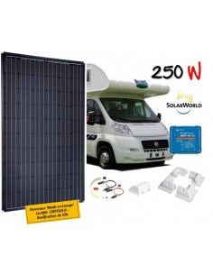 Kit solaire camping car 250 W solarworld