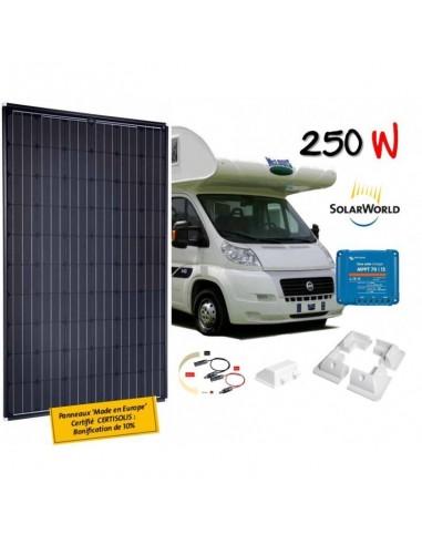 Kit solaire camping car 250 W solarworld