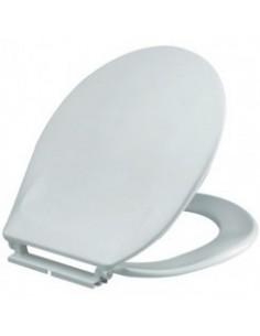 Abattant double thermoplastique blanc - rh