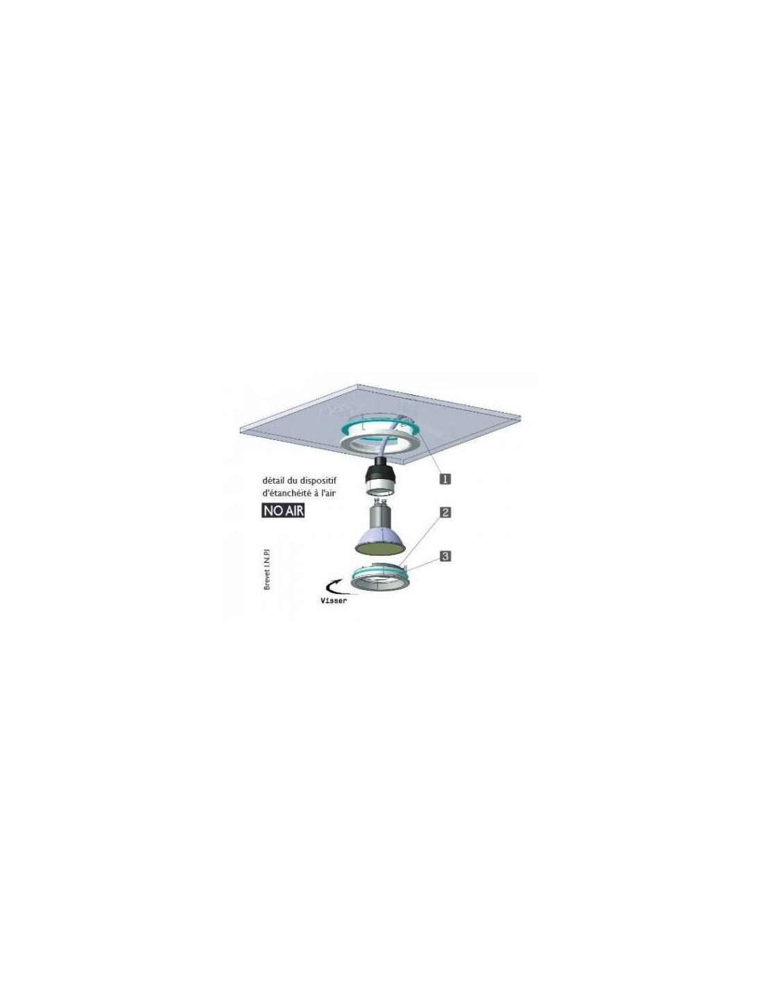 spot a encastrer rt 2012 etanche a l air aerosptot mercure mbf 6w sh bc. Black Bedroom Furniture Sets. Home Design Ideas