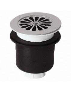 Bonde siphoide verticale pour receveur de douche acrylique 90