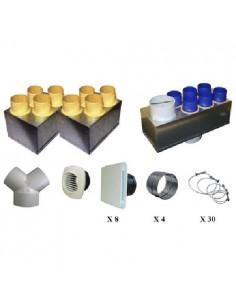 Kit accessoires vmc double flux P04 Unelvent AKHOR hr