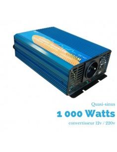 Convertisseur  1000 watts 12v/230v quasi-sinus