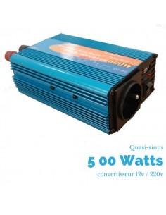 Convertisseur  500 watts 12v/230v quasi-sinus