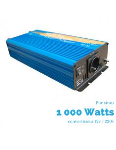 Convertisseur pur sinus 1000 watts 12V-230 V