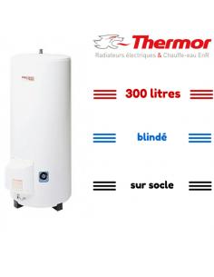 Chauffe-eau 300 litres vertical socle blindé thermor