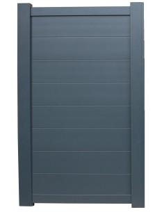 Portillon aluminium ELISE 1.00m x1.80