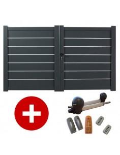 Portail aluminium standard portail petit prix for Portail petit prix