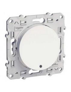 Interrupteur va et vient  lumineux Blanc 10 A à vis LED orange 1,5 mA local. ou temoin Odace