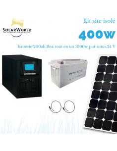 kit solaire 12v site isol ou camping car brico. Black Bedroom Furniture Sets. Home Design Ideas