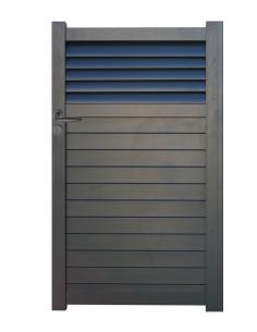 Portillon aluminium Justina 1.00m x1.80