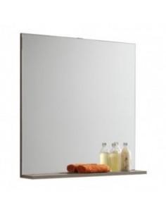 Miroir bandeau sans applique ceruse dubaï 70cm