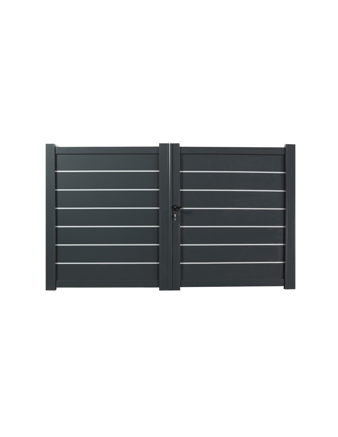 portail aluminium battant motoris leonard ebay. Black Bedroom Furniture Sets. Home Design Ideas
