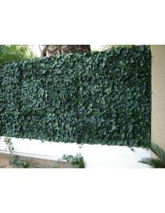 haie artificielle synth tique verte longueur 3 m 110 brins. Black Bedroom Furniture Sets. Home Design Ideas