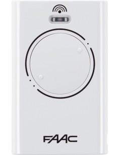 Télécommande FAAC 868MHZ XT2 LR BLANC