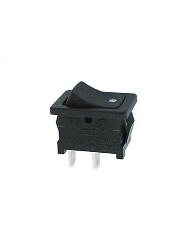 Interrupteur de puissance a bascule 3a-250v spst on-off