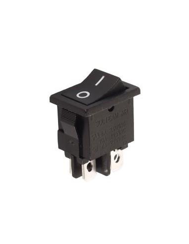 Interrupteur de puissance a bascule 3a-250v dpst on-off - noir
