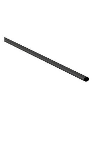 200 gaine thermoretractable 2:1 - 1.6mm - noir - 1m - version economique