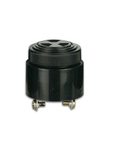 Buzzer a intensite sonore reglable 3-24vcc type a visser - son pulse