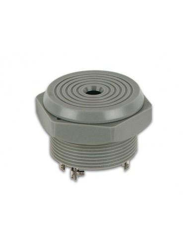 Buzzer pour montage apparant 4-28vcc / 8ma