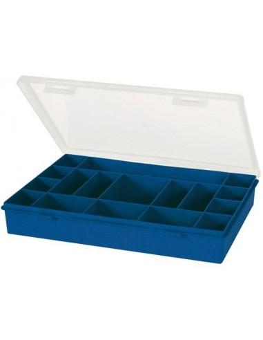 Tayg - boîte de rangement - 330 x 274 x 54 mm - 17 compartiments