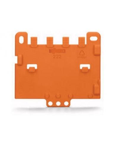 Plaque de décharge de traction encliquetable sur adaptateur de fixation - 10 pièces