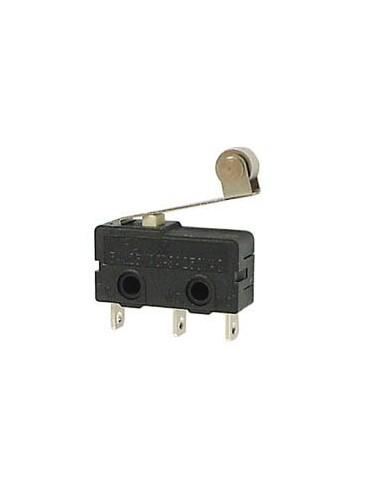 Microrupteur 5a, levier avec roulette