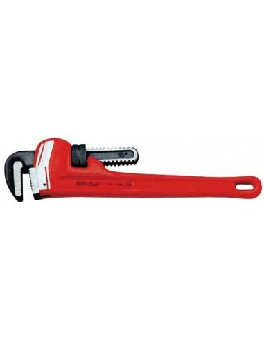 """Egamaster - clé à tuyau - modèle lourd - 8"""" - ø 1"""" - 0.42 kg"""