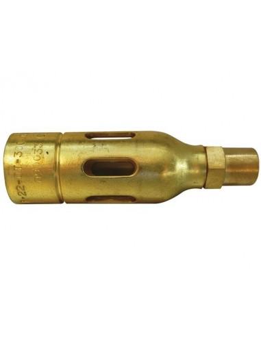 Oxyturbo - chalumeau - pour toiture - 22 mm - ot