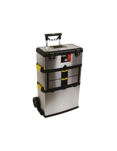 Servante d'atelier - acier inoxydable - 570 x 354 x 830 mm